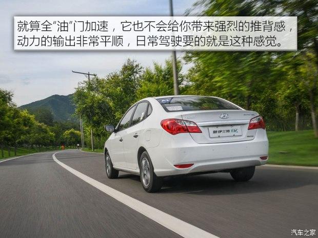 北京现代 伊兰特新能源 2017款 基本型