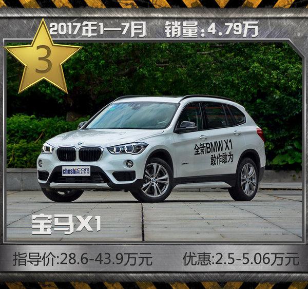 豪华SUV1-7月热销TOP10 其他SUV洗洗睡了吧-图4