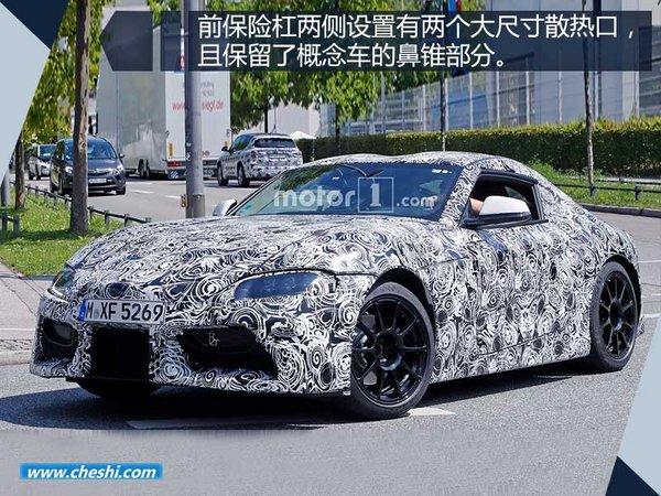 丰田新轿跑将10月27日亮相 与宝马Z4同平台-图2