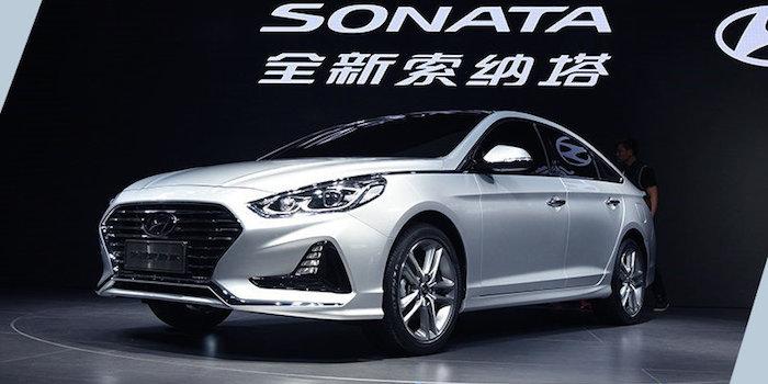 北京现代8月25日推3款新车 索纳塔首搭2.0T