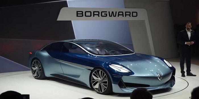 宝沃推全新概念车Isabella亮相法兰克福车展