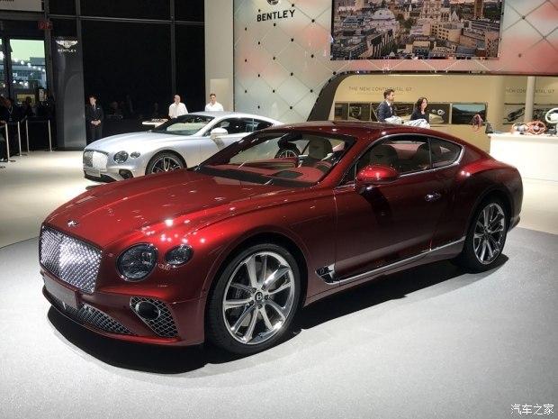 新款欧陆GT将于2018年入华 曝宾利新车计划