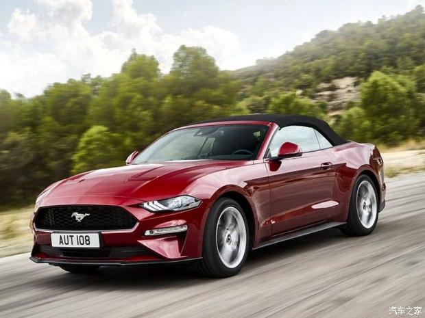 搭两款发动机 新款Mustang敞篷版官图