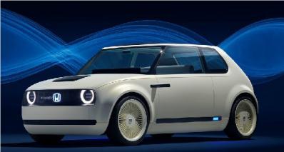 本田电动概念车Urban EV Concept 造型独特可爱