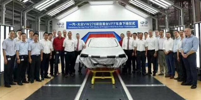 一汽-大众T-Roc已在海外下线 明年引入国内生产
