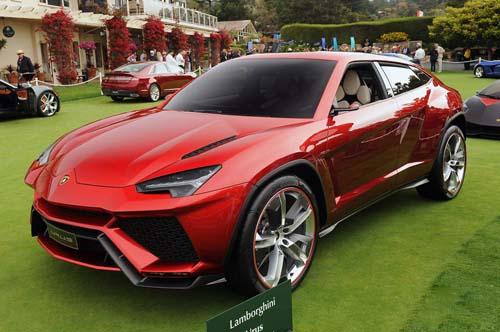 兰博基尼SUV将于12月4日首发 明年初引入国内