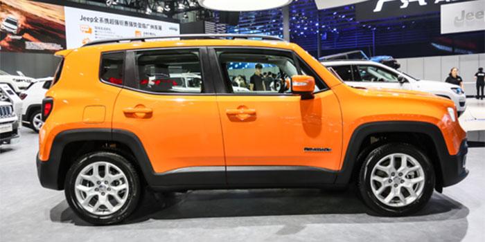 超酷小型SUV 广州车展体验全新Jeep自由侠