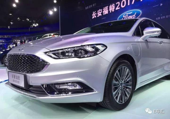 广州车展 长安福特正式发布蒙迪欧插电混动版