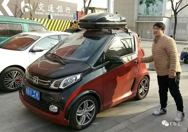 郝先生为何选择纯电动众泰E200?
