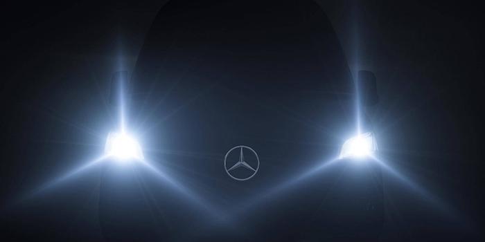 2018年2月正式亮相 奔驰新Sprinter预告图