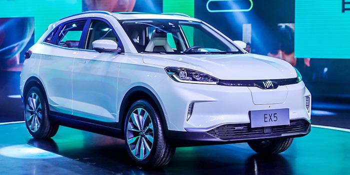 高效智能电动SUV 威马EX5明年三季度上市