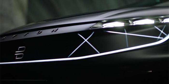 拜腾推纯电中型SUV 定位共享出行和自动驾驶