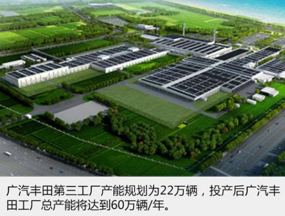 广汽丰田第三工厂明年1月投产 首批生产C-HR