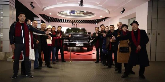 """红旗""""旗仕团""""成立 一汽打造中国第一豪华品牌"""
