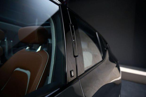 拜腾首款概念车预告 1月7日首发/中型SUV