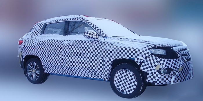 进一步丰富产品阵容 长安全新SUV谍照曝光