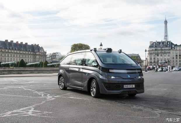 靠多种传感器 Navya推自动驾驶纯电动汽车