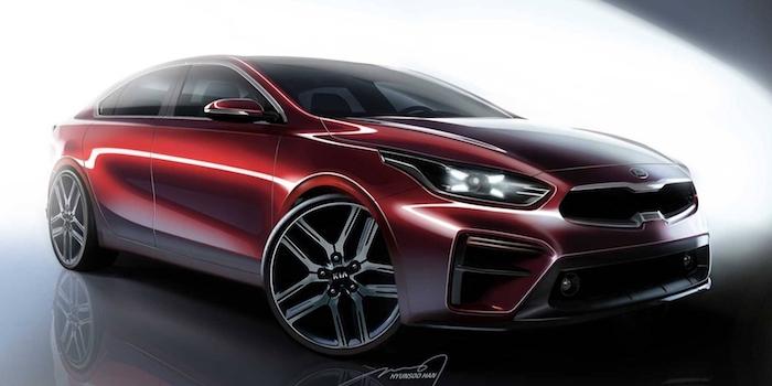将于北美车展首发 起亚全新Forte预告图发布