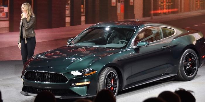 2018北美车展:福特发布Mustang Bullitt