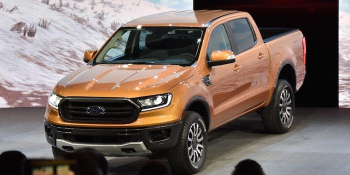 2018北美车展:福特新款Ranger正式发布