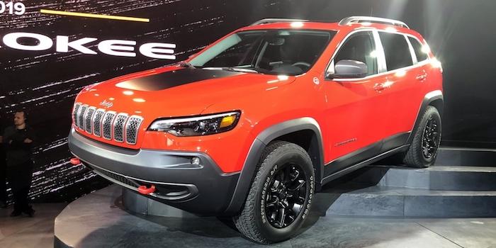 2018北美车展:Jeep新款自由光正式亮相