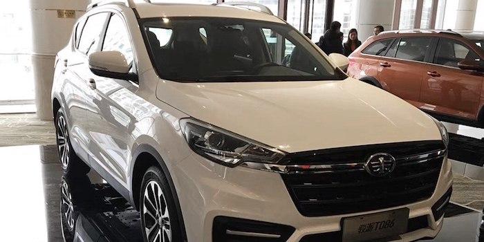 紧凑型SUV新作 骏派T086将于明日正式首发