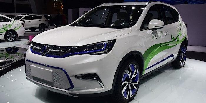 最快将于年底上市 曝东风风神AX5-EV消息