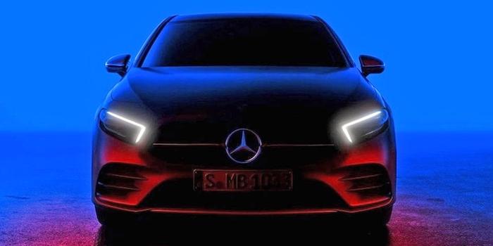 2月2日全球首发 新一代奔驰A级预告图发布