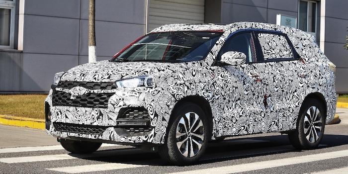 或命名为瑞虎8 奇瑞全新SUV将于2月1日亮相