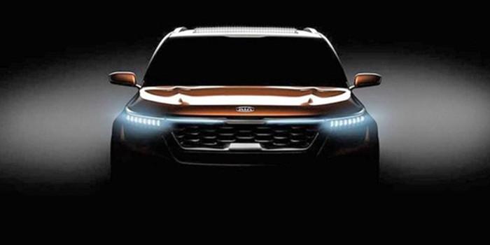 起亚SP车型的预告图发布 2月7日亮相新德里车展