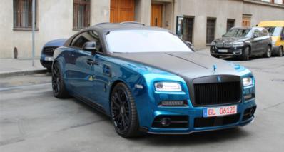 劳斯莱斯Rolls-Royce Mansory Wraith Bleurion
