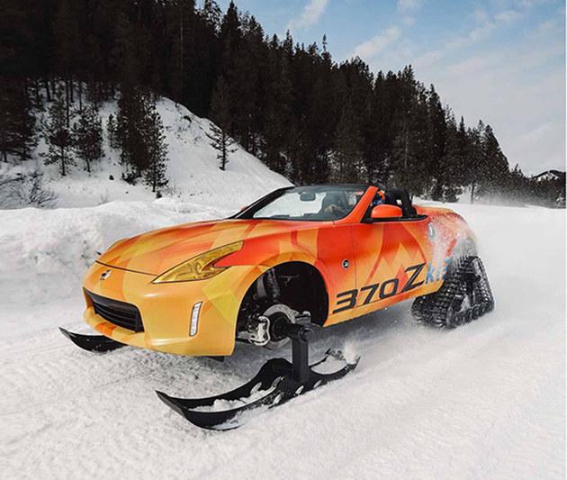日产370ZKI雪地车 2018芝加哥车展亮相