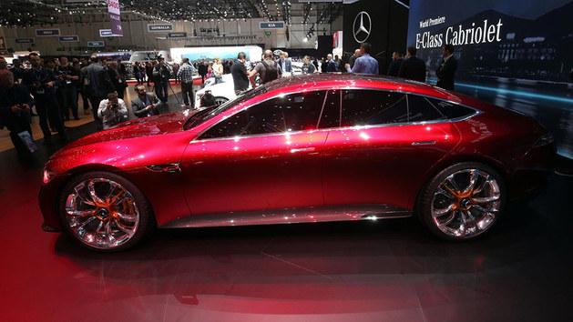 梅赛德斯-AMG GT无伪谍照 或2018年量产