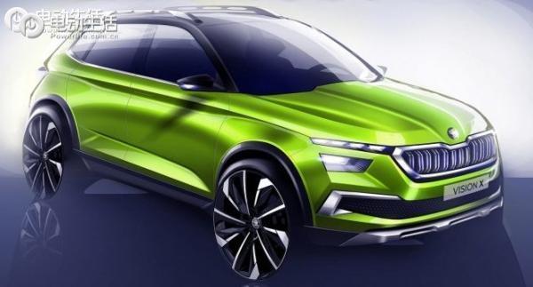 发力新能源 斯柯达再推电动SUV概念版车型