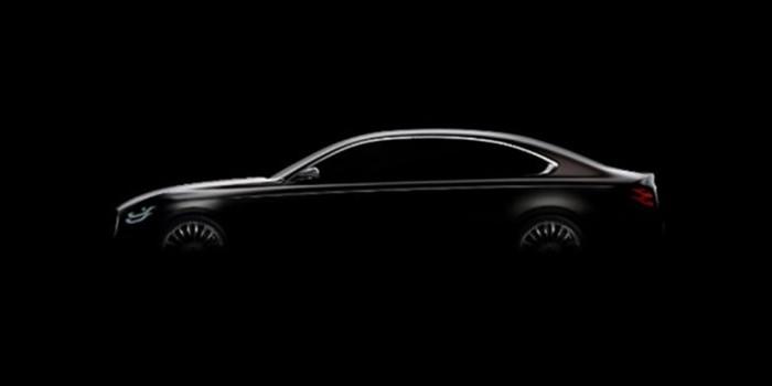 全新起亚K9预告图发布 或将亮相2018纽约车展