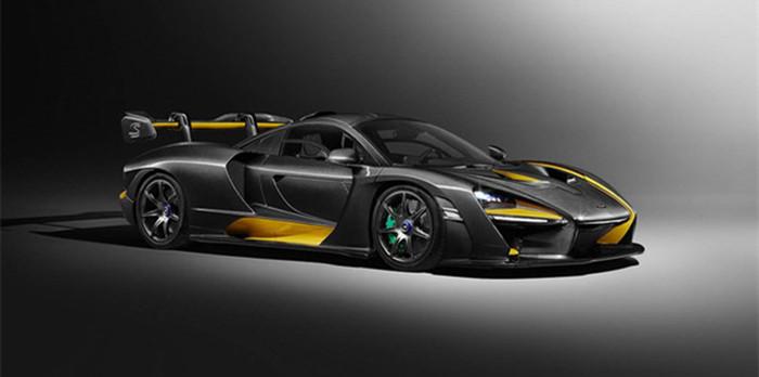 迈凯伦MSO Senna Carbon 日内瓦车展亮相