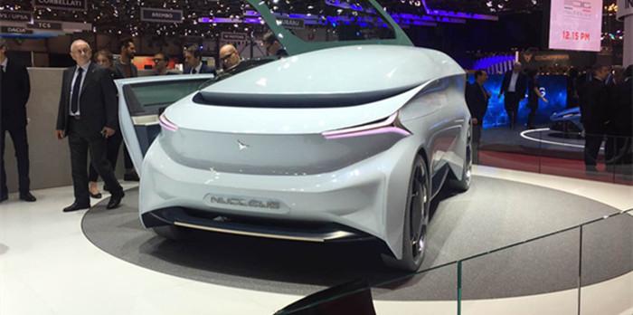 Icona Nucleus概念车于日内瓦车展发布