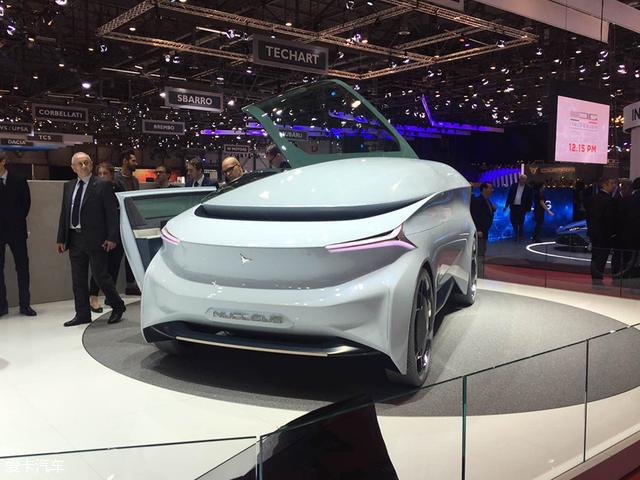 日内瓦车展:Icona Nucleus概念车发布
