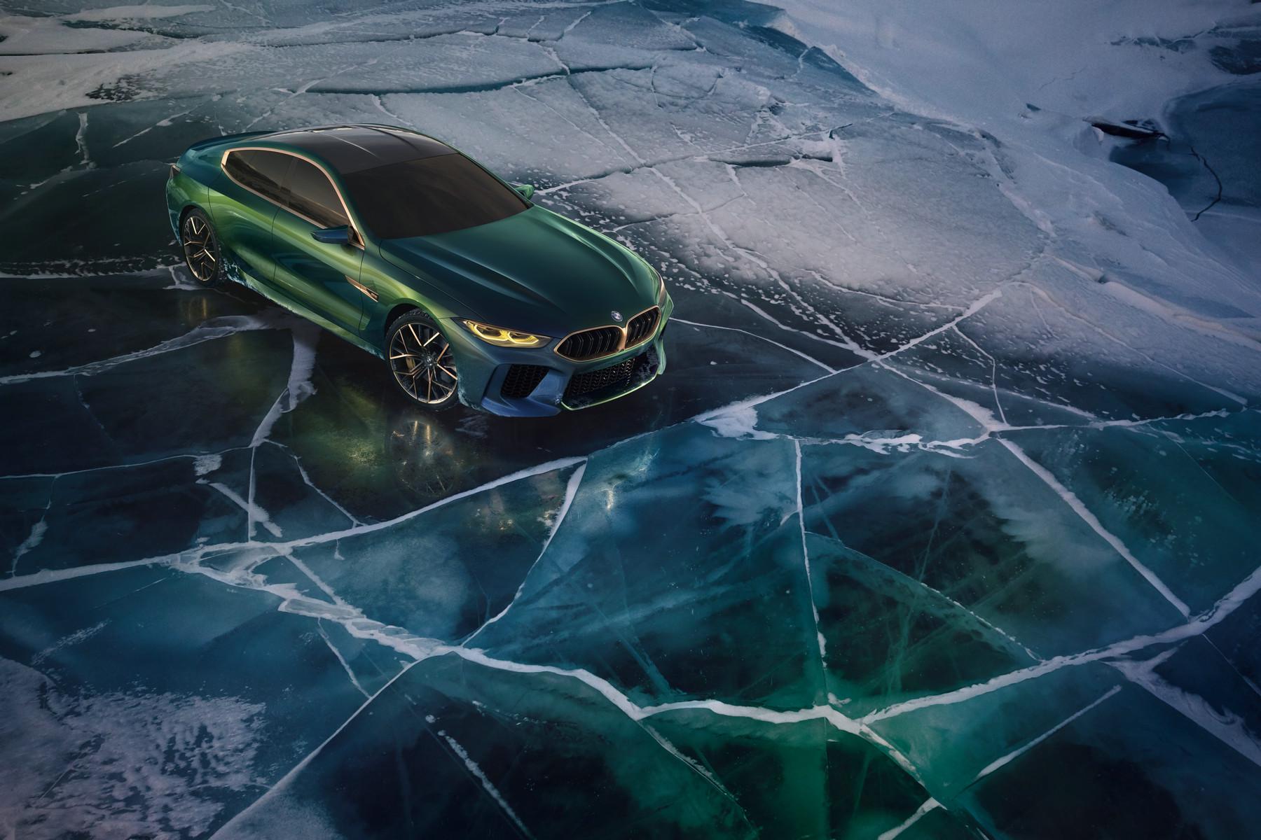 宝马日内瓦首发M8四门轿跑概念车 2019年量产