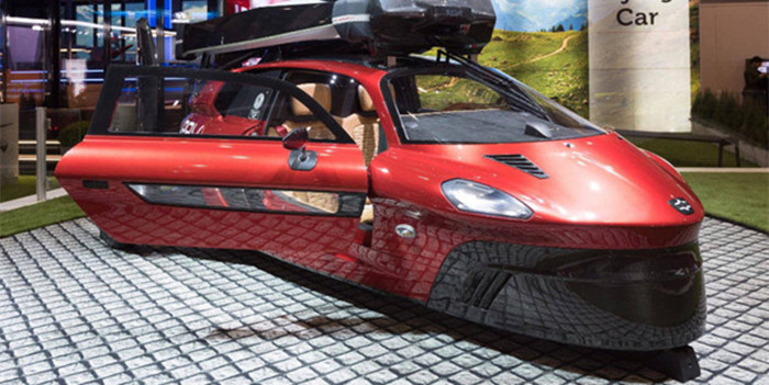 Pal-V飞行汽车亮相日内瓦车展 明年年完成首批交付