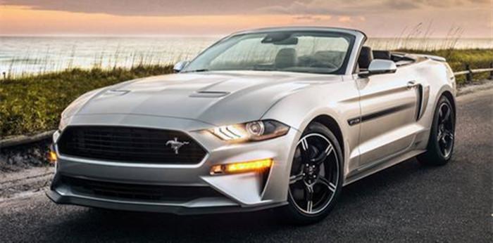 动力再度提升 福特推Mustang GT加州特别版
