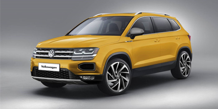 大众全新紧凑型SUV假想图曝光 或8月上市