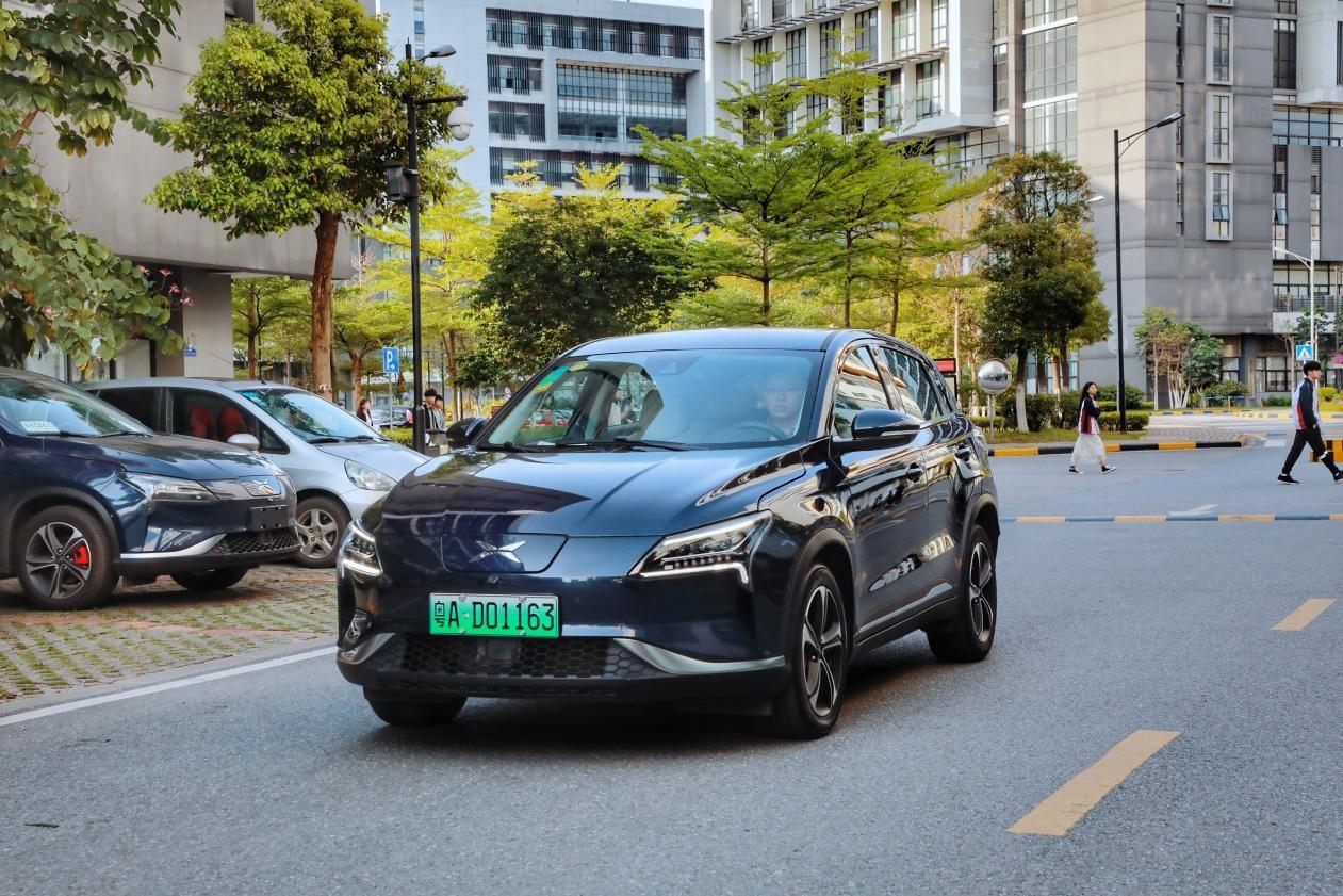 小鹏汽车摘得造车新势力 首张新能源汽车专用号牌