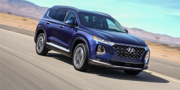 现代Santa Fe系列将重新命名 将推8座SUV车型