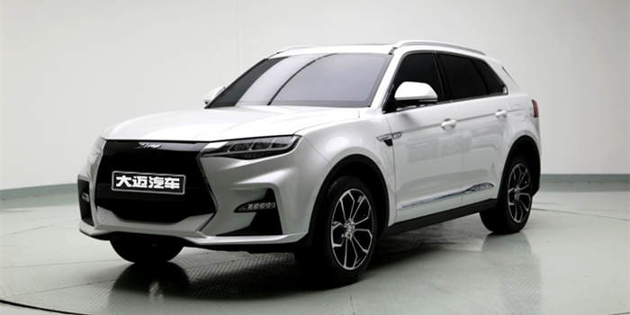 大迈X7S的外观谍照首次曝光 将亮相北京车展
