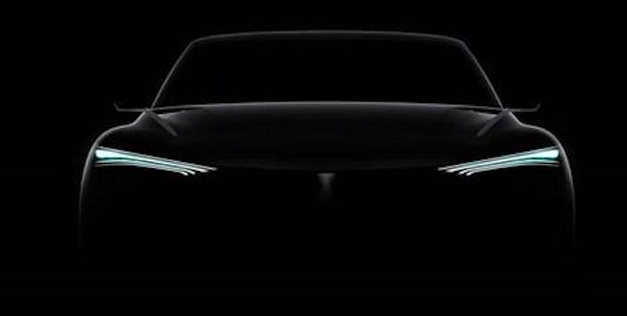 WEY全新电动概念SUV预告图 北京车展亮相