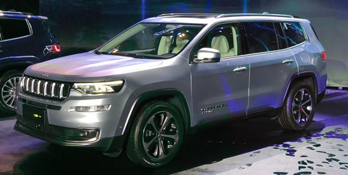 Jeep大指挥官正式上市 售价27.98-40.98万元