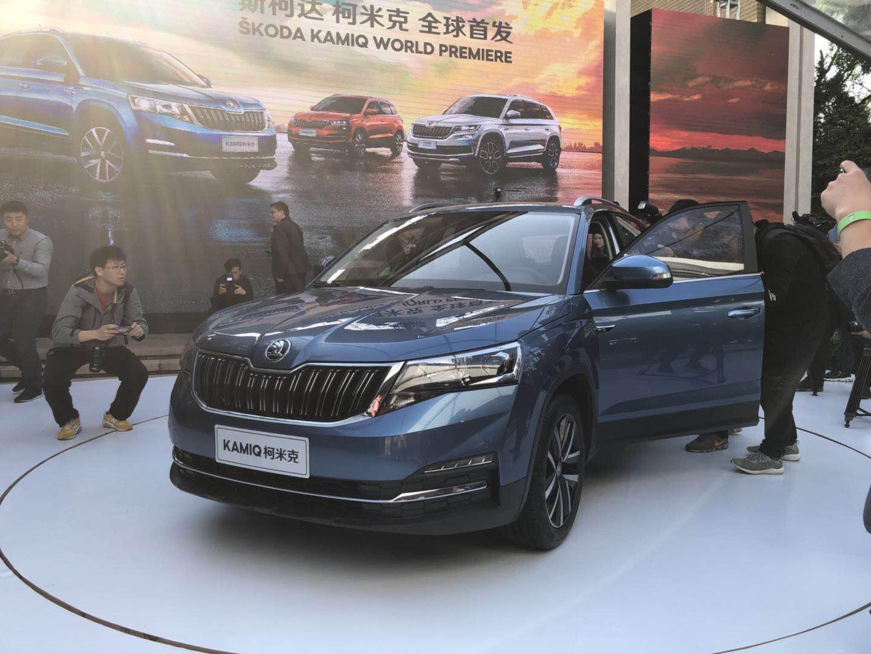 斯柯达SUV家族再填新员 柯米克在京进行全球首秀