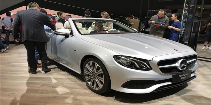 全新奔驰E级敞篷轿跑车正式上市 67.98万元起售
