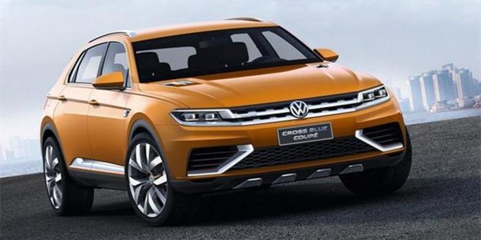 大众途观或将推出Coupé车型 2019年亮相